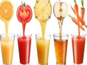 Postal: Sacando el jugo a la fruta