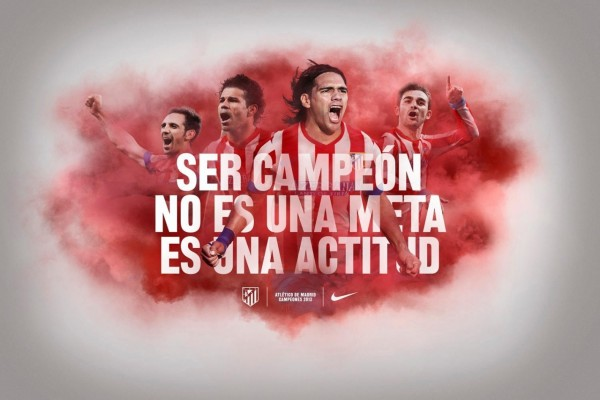 Atlético de Madrid, campeones de la Copa del Rey 2013 (España)