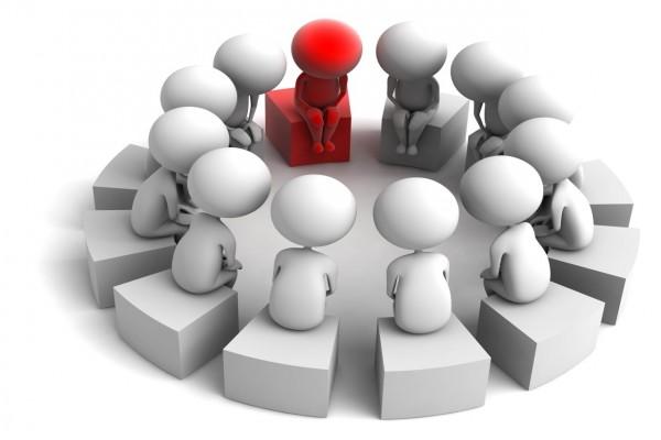 Reunión en círculo