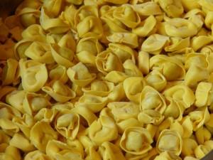 Postal: Tortellini, pasta rellena