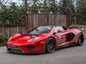 Postal: FAB Design McLaren 12C Spider Terso 2013