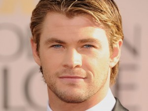 Postal: El actor Chris Hemsworth