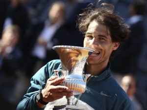 Postal: Rafa Nadal, campeón del Masters de Roma 2013