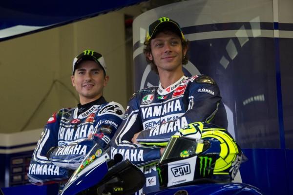Valentino Rossi y Jorge Lorenzo, MotoGP 2013