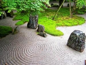 Postal: Jardín Zen