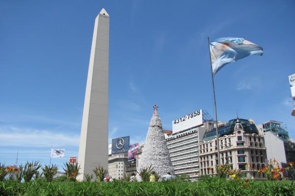 El Obelisco de Buenos Aires, Argentina