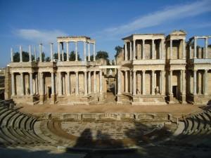 Anfiteatro romano de Mérida, España