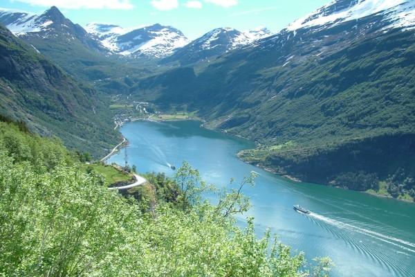 Fiordo de Geiranger (Geirangerfjord), Noruega