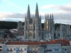 Postal: Catedral de Burgos, España
