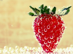 Fresa en agua