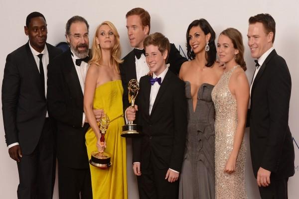 Elenco de Homeland en los Premios Emmy