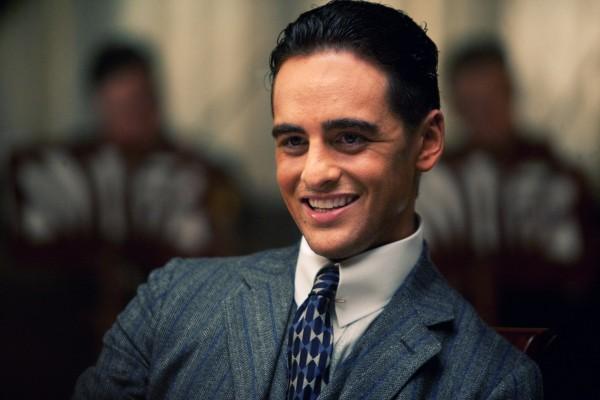 """Lucky Luciano, interpretado por Vincent Piazza, en """"Boardwalk Empire"""""""