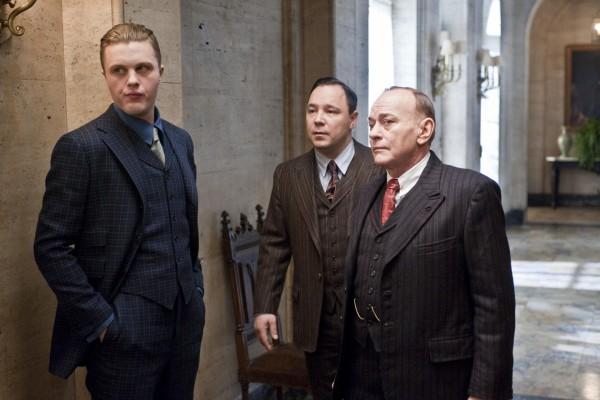 Al Capone, Johnny Torrio y Jimmy Darmody (Boardwalk Empire)
