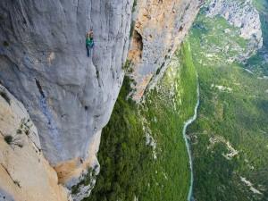 El vértigo de la escalada