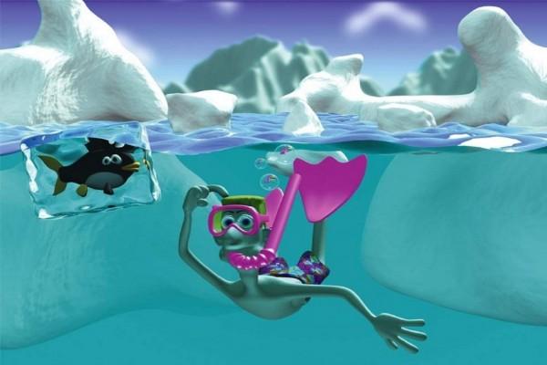 Buceando en el hielo