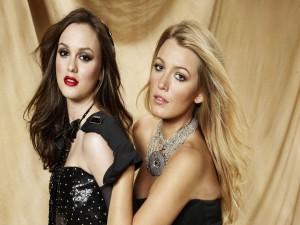 """Blair y Serena de """"Gossip Girl"""""""