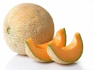 Postal: Melón naranja