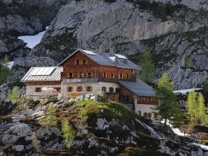 Postal: Laufener Hütte, Salzburgo (Austria)