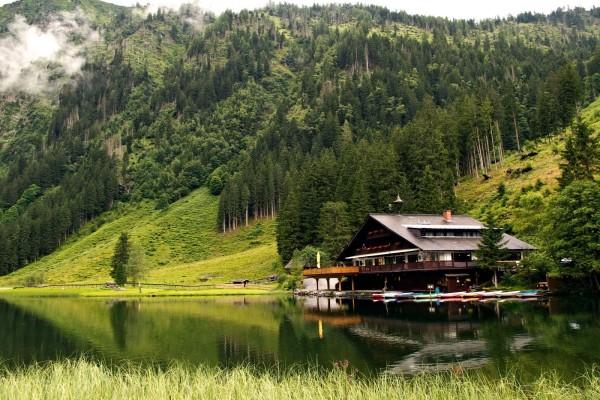 Centro de recreo a orillas del lago Constanza (Austria)
