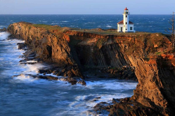 Faro del Cabo Arago, Charleston, Oregon