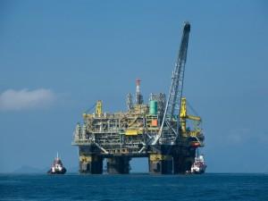 Postal: Plataforma petrolífera en aguas brasileñas
