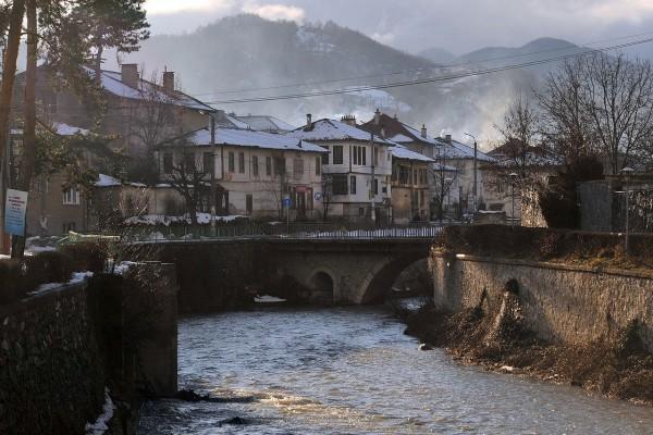 La ciudad de Zlatograd, Bulgaria