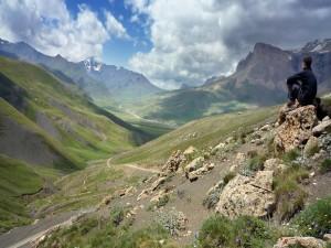 Valle Khinalug, Azerbaiyán