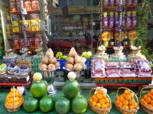 Postal: Frutería en Alejandría (Egipto)