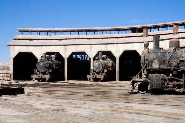 Museo del ferrocarril (Baquedano, Chile)
