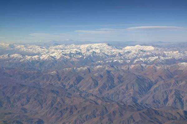 Entre Santiago y Antofagasta, Chile