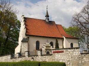 Postal: Iglesia de San Gil en Giebultow, Polonia