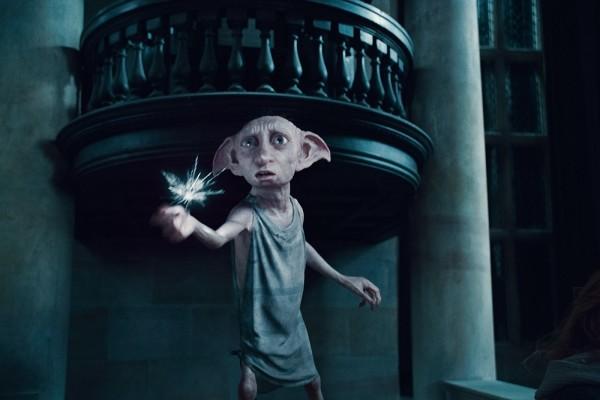 Dobby, un elfo de la saga Harry Potter