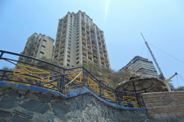 Hotel en las playas de Cartagena, Colombia
