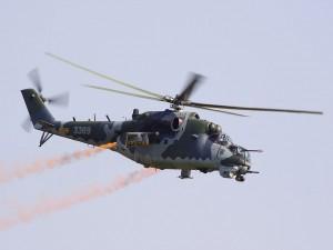 Mi-24, helicóptero de ataque y transporte de tropas
