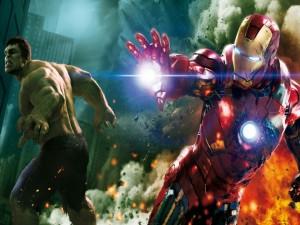 """Iron Man y Hulk, en """"Los Vengadores"""""""