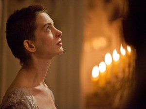 "Postal: Anne Hathaway, en su papel de Fantine en ""Los Miserables"""