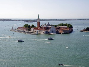 La isla de San Giorgio Maggiore en Venecia