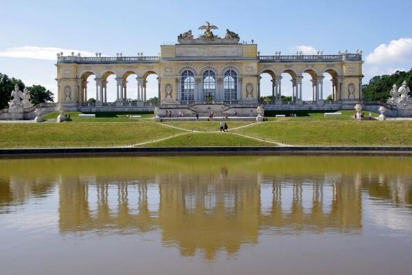 Glorieta del Palacio de Schönbrunn, Viena, Austria
