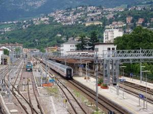 Estación de ferrocarril de Trento, Italia