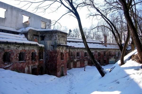 Fortificación en ruinas, Cracovia