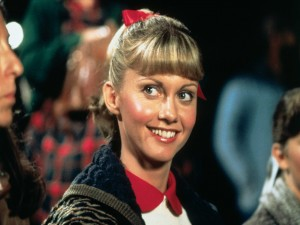 Olivia Newton-John en el papel de Sandy (Grease)