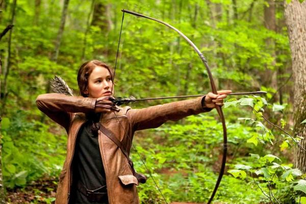 """Jennifer Lawrence en """"Los juegos del hambre"""""""
