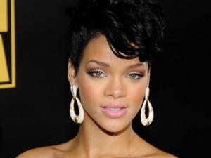 La guapa cantante Rihanna