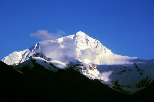 Nubes en el Everest