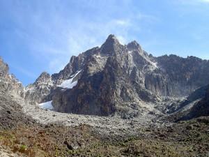 El monte Kenia, la montaña más alta de Kenia (África)