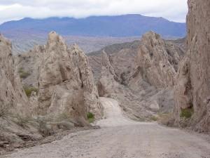 Postal: La Quebrada de Las Flechas, Argentina