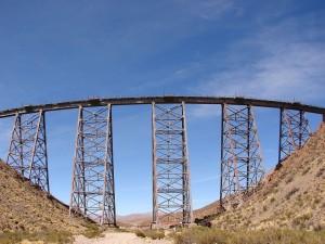 "Postal: Viaducto ""La polvorilla"" (Salta, Argentina)"