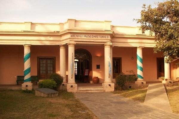 Fachada del Archivo y Museo Histórico de San Fernando del Valle de Catamarca (Argentina)