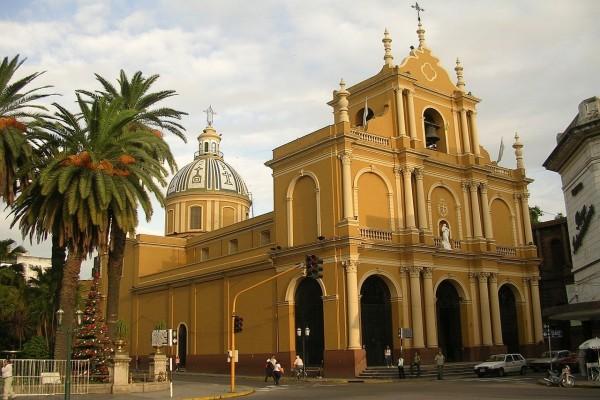 Templo de San Francisco, en Tucumán capital (Argentina)