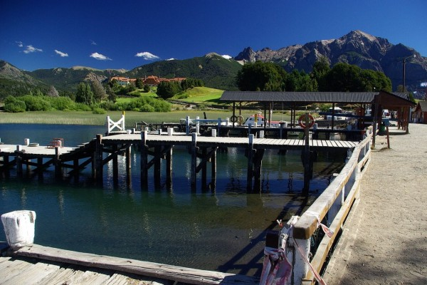 Puerto Pañuelo, en el Lago Nahuel Huapi (Bariloche, Argentina)